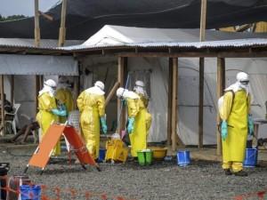 Trang bị cho Ebola